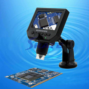 Wholesale Price 4.3 Inch Lcd Screen Mini 600x Digital Microscope With Led Light