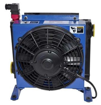 Hydraulic oil air coolers with fan AC220V DC24V