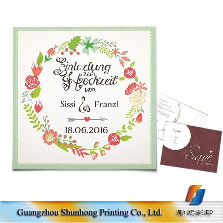 Save The Date Cards Cheap Muslim Wedding Invitation Card Guangzhou ...