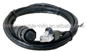 Crossover Ethernet (RJ45) to CarDAQ2534 Cable, for Laptops
