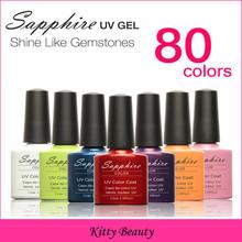 Color No1 31 Brand Nail Art Sapphire Nail Gel 80 Fashion Colors UV Gel Polish