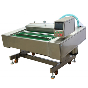 Large capacity continuous belt type New type big pumping Vacuum sealing Machine for all kinds of food