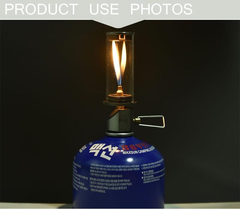 Camping Outdoor lantern Ultralight Portable Gas Lamp