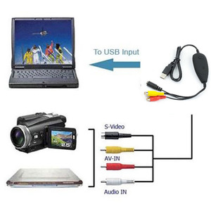 2017 NEW Ezcap172 USB Audio Video Grabber Capture,Convert Analog video from VHS,Video recorder,camcorder