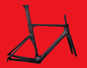 China Carbon race/racing bike frame Max. Tyre 700*25C Aero Carbon Road Bike Frame