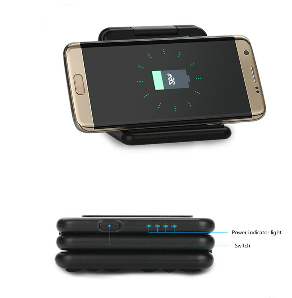 Shenzhen Factory manufacture MFi certified Wireless charger Power bank 5200mAh for Apple Watch