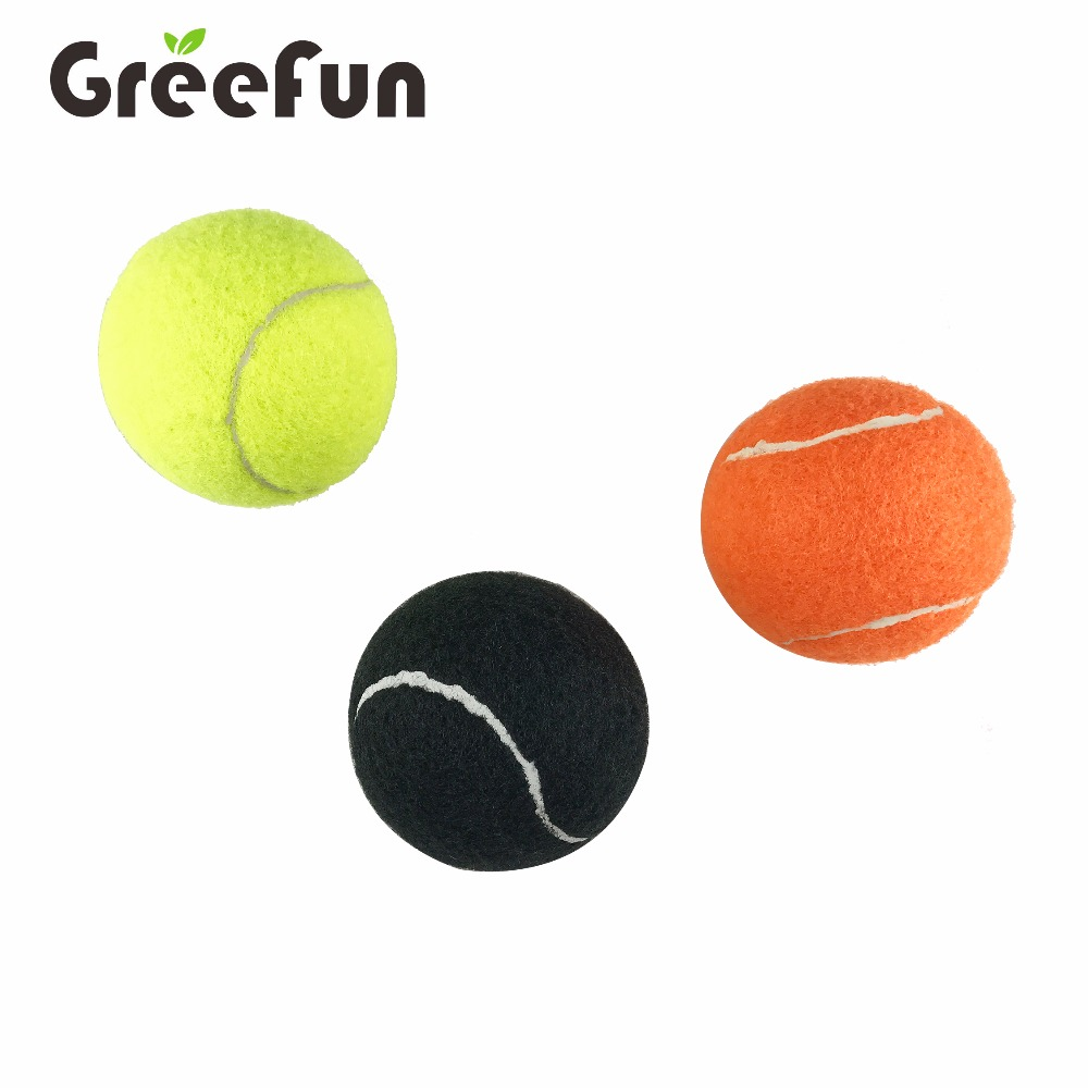 Newest Custom Color Blue Tennis Balls OEM Logo Good Quality Tennis Balls with Tennis Ball Cans Packing for Wholesale