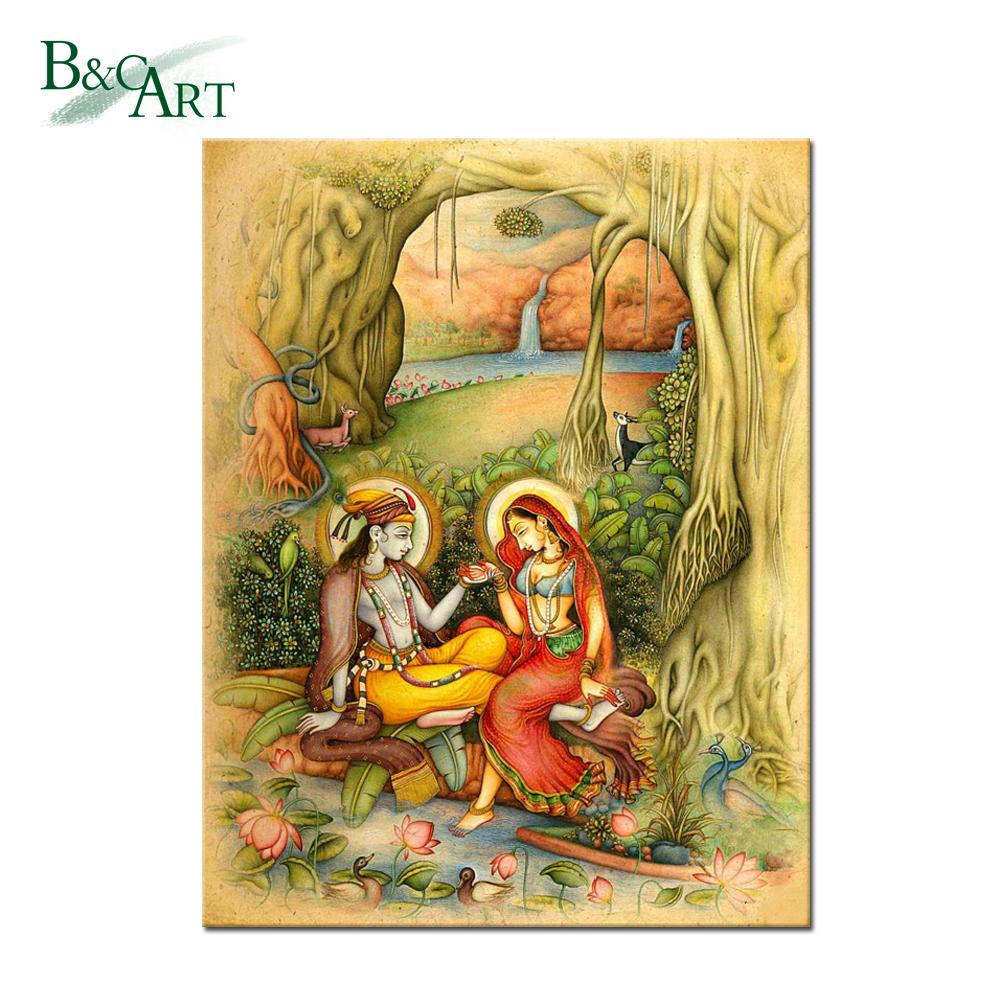 Radha Krishna Art Painting, Radha Krishna Art Painting Suppliers and ...
