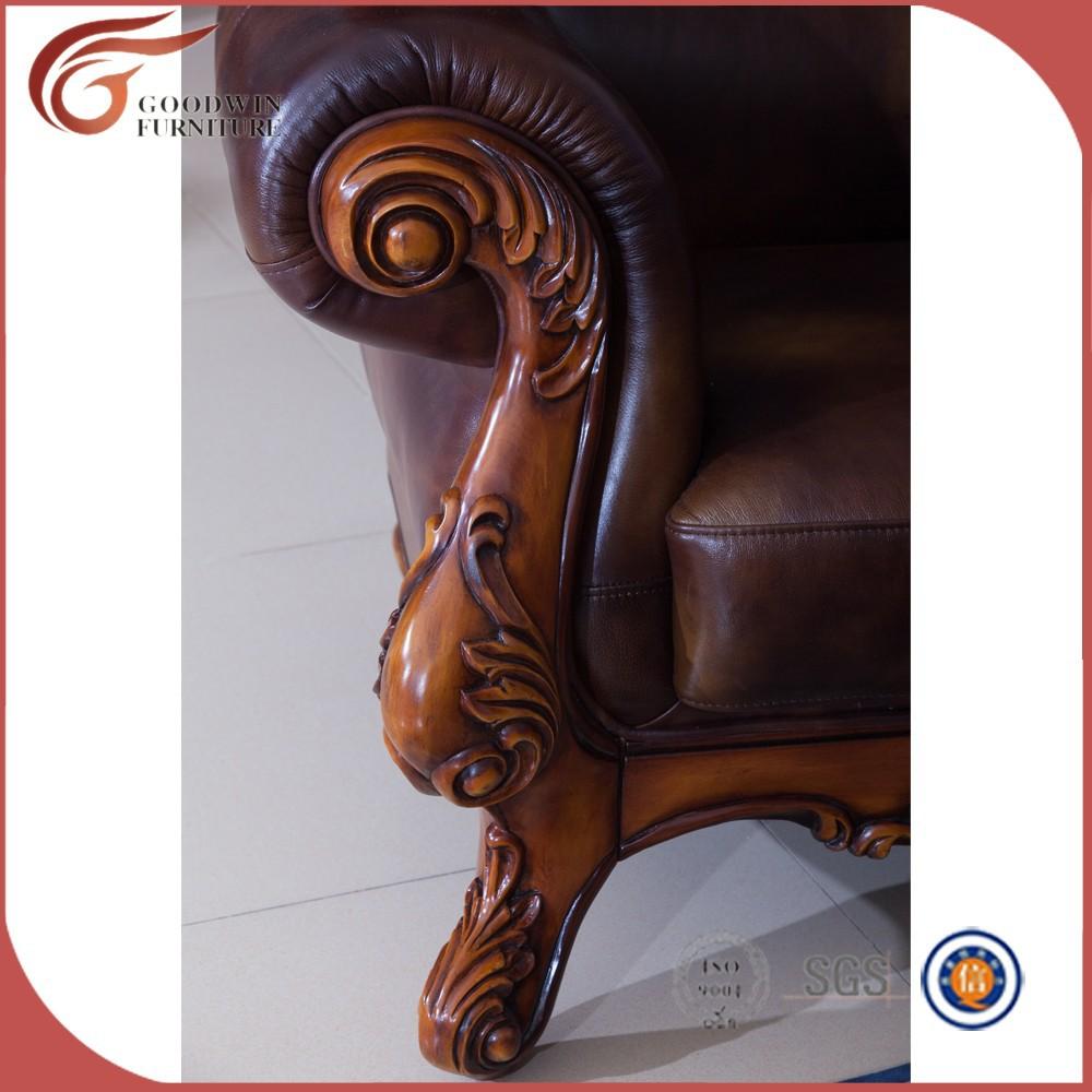 Woonkamer meubels bank, houten bankstel meubilair a88 maleisië ...
