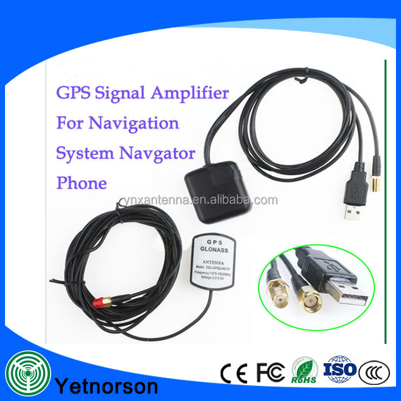 GPS Antenna navigator Amplifier 5M/16FT Car External Repeater Amplifier gps receive and transmit for Phone car navigation system