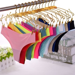 Wholesale One piece seamless underwear sexy women breathable thong panty