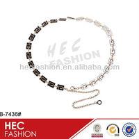 Lady Fashion Metal Belt Chain Belt