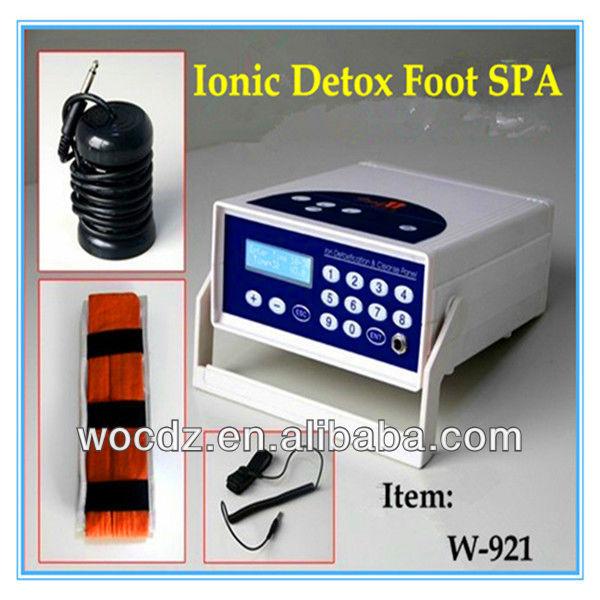 Ce New Pro Ionic Detox Foot Bath Spa Aqua Cell Cleanse Machine ...
