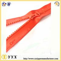 Special Custom Heavy Duty Waterproof Zipper Red Waterproof Zipper