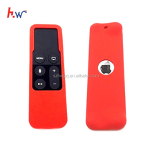2018 Amazon Own model soft dustproof waterproof durable silicone rubber TV remote control case cover sleeve for Apple TV