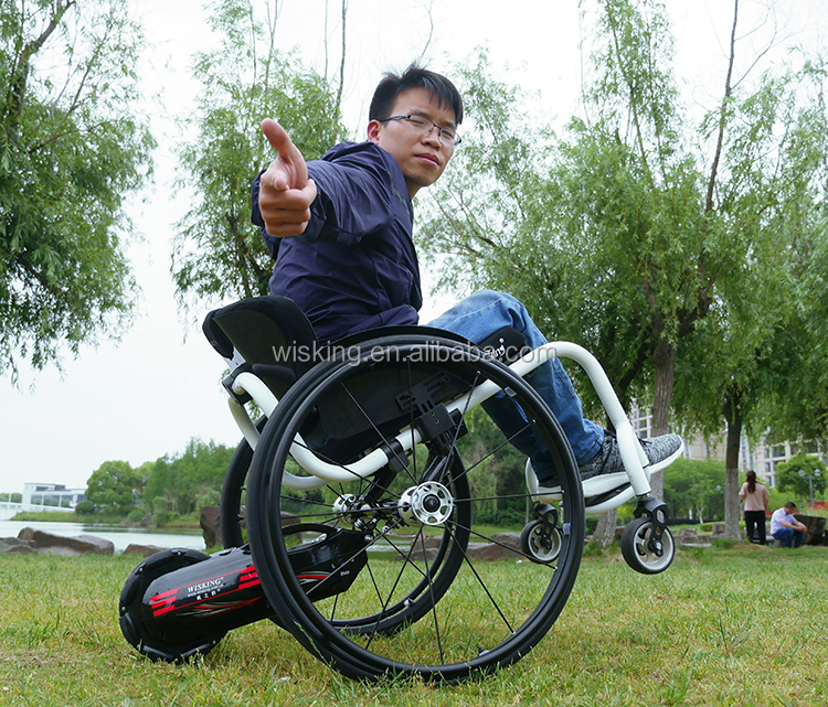 Wheelchair trailer handcycle drive spare part for manual wheelchair