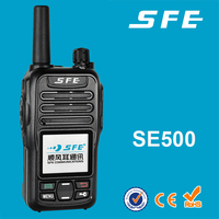 Made in china 52*33*102mm mini uhf walkie talkie with micro usb port