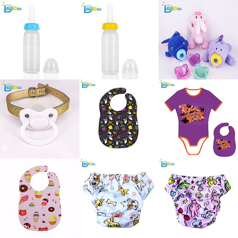 2019 Whosale DDLG Original Abdl Pacifier 15 normal colors Adult Sized Pacifier Adult Pacifier