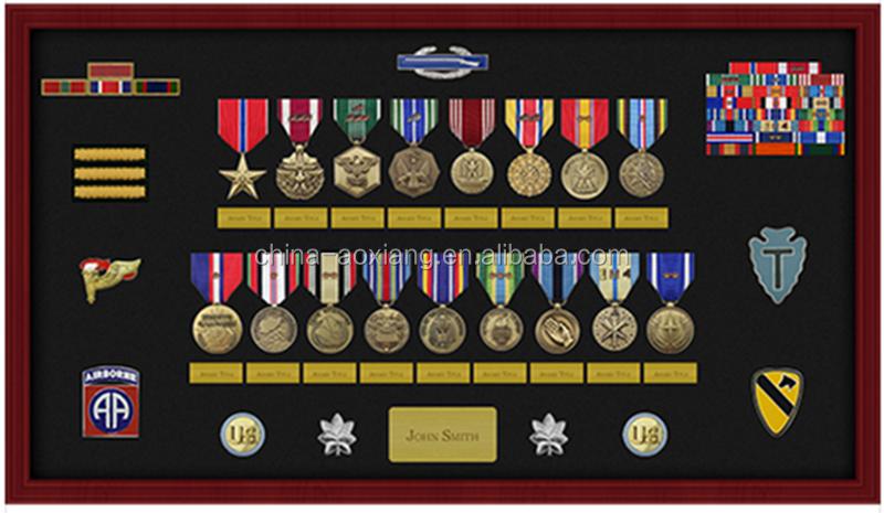 3-12 Laca Madera Para Premios Militares Medalla Vitrina - Buy Caja ...