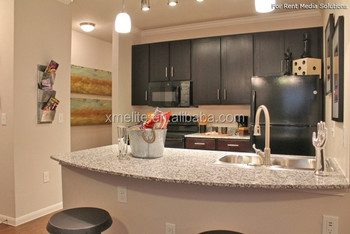 Pauline Grey Granite Kitchen Countertop for Cascadia Apartments in USA