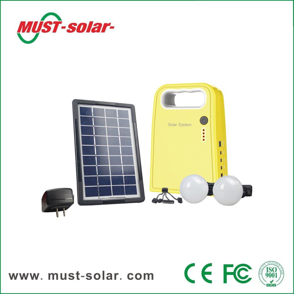 Solar Kit 3w Dc Solar Lighting System Solar Panel With