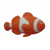 fish shape usb flash drive 3D clown fish usb memory stick hot usb pen drive with customized logo