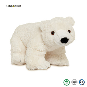 ISO certification plush toy stuffed customized giant christmas polar bear stuffed animal