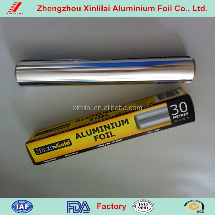 hot sale soft aluminium foil roll 38um dealer lid