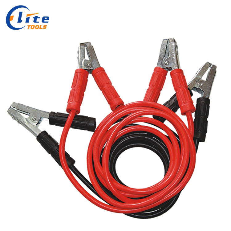 Automotive Emergency Portable Battery Smart Jumper Starter Booster Clamp Cables,