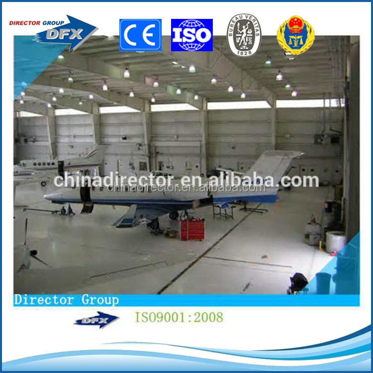 cheap prefabricated portable aircraft hangar with high quality