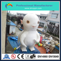 Customized 8m height Huge advertising inflatable monster/giant inflatable monster cartoon character for sale