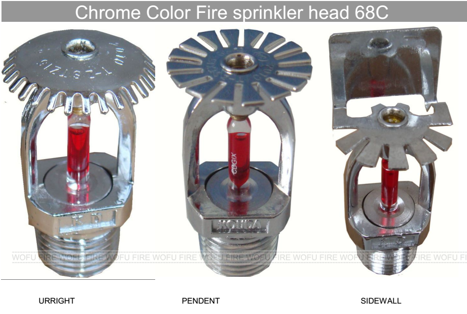 Types of chrome water fire sprinkler heads view water fire types of chrome water fire sprinkler heads mozeypictures Images