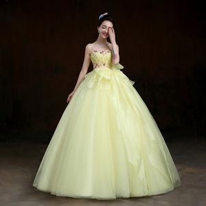 China Yellow Wedding Dresses Whole Alibaba