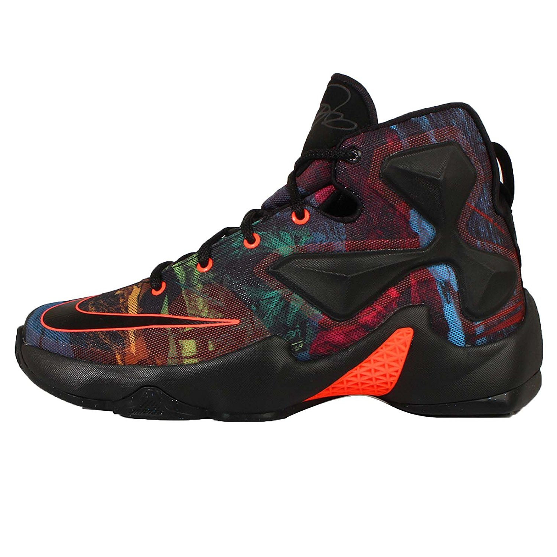 00ae21057a4 Get Quotations · Nike Kids Lebron XIII (GS) Basketball Shoe