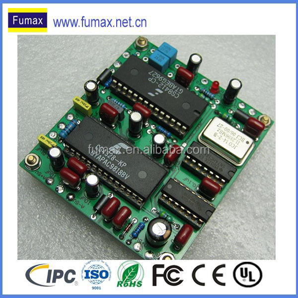 pcb layout design and assembly manufacturer together with plastic injection molding service