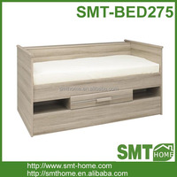 New bed room furniture wood bunk bed with drawers bed frame