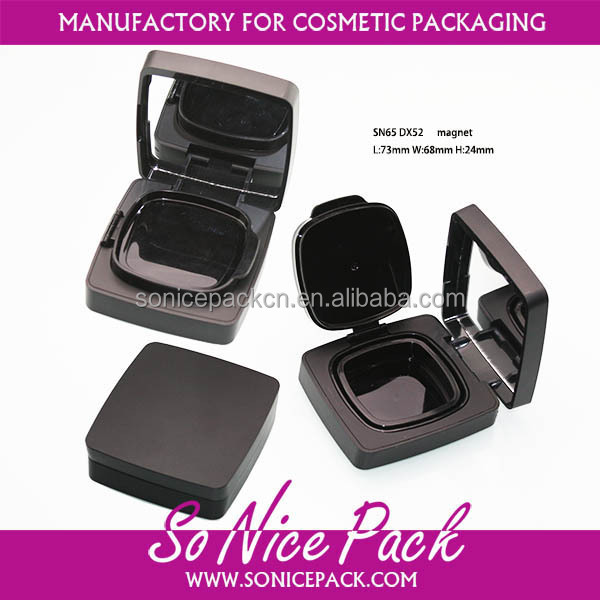 square air cushion case with mirror make up container