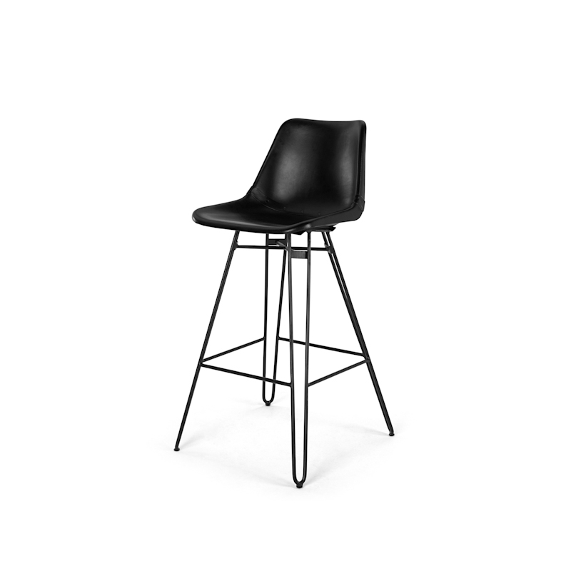 Miraculous High Metal Leg Black Leather Dining Chair Wishbone Dining Chair Modern Leather Dining Chair Buy Black Leather Dining Chair Leather Iron Dining Squirreltailoven Fun Painted Chair Ideas Images Squirreltailovenorg