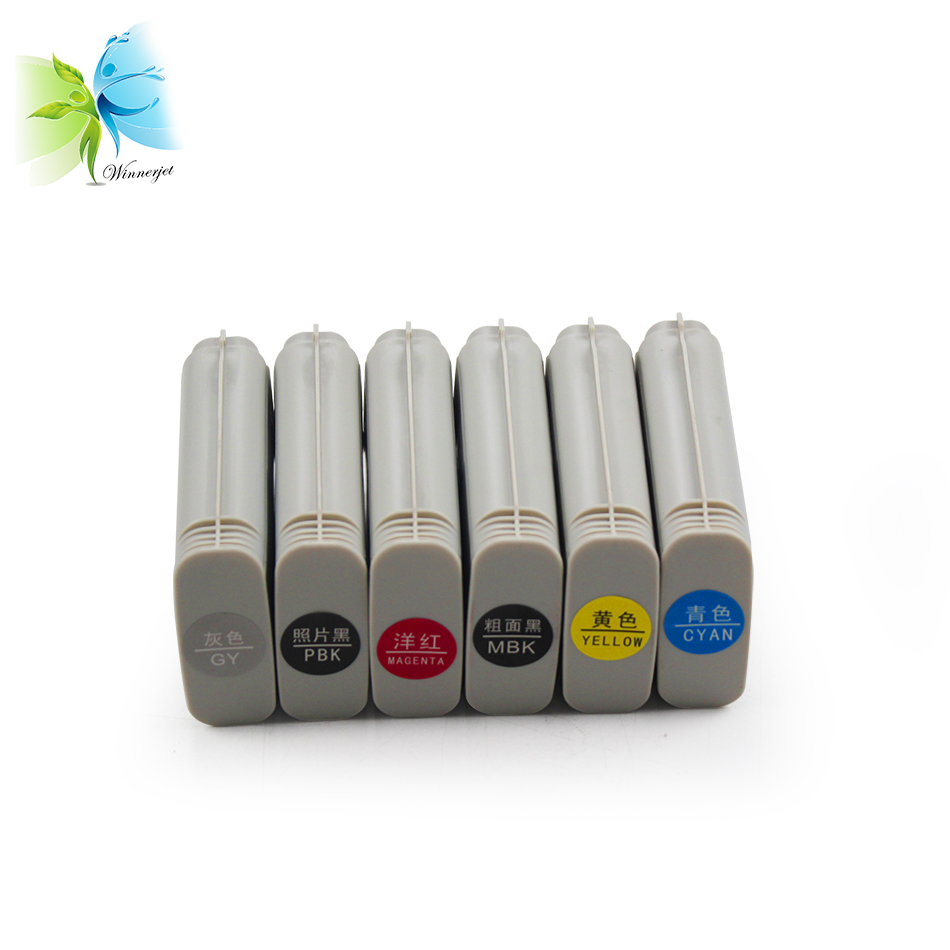 Serbatoio di inchiostro Cartuccia Con Inchiostro Per Hp T610 T770 T790 Plotter Stampante