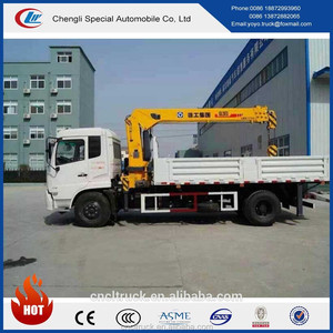 DFL 4x2 180hp special construction vehicle Hoisting Load 6000kg with best selling price