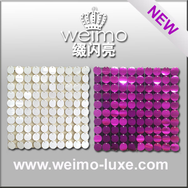 New Sequin Disc Panel For Inexpensive Home Decor