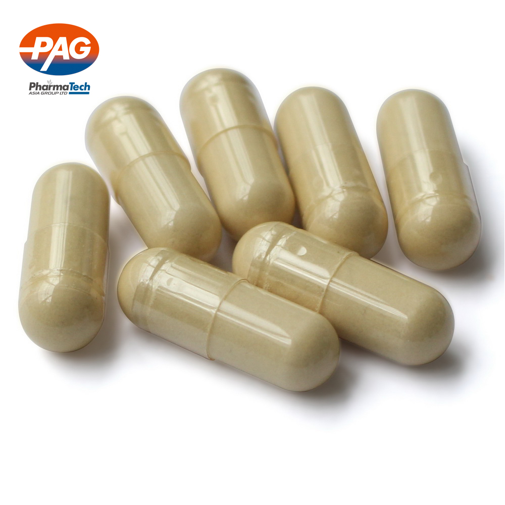 Herbal food supplement cordyceps sinensis capsule