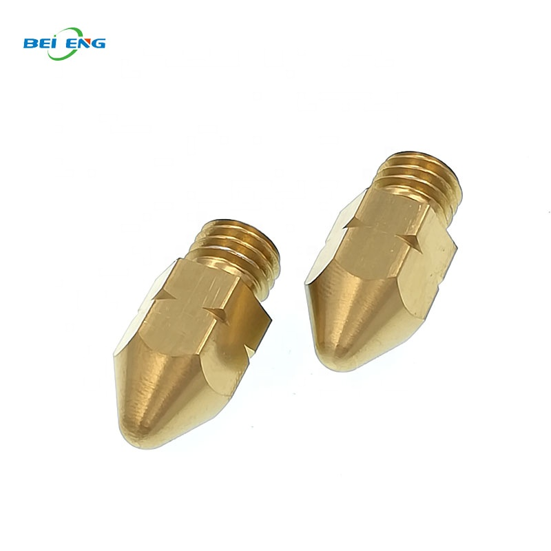 Custom CNC turning machining brass <strong>spray</strong> nozzle parts China supplier