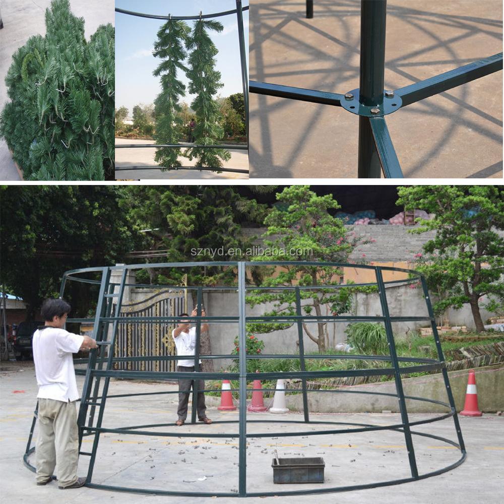 Personalizado Gigante Al Aire Libre Metal Artificial Árbol De ...