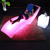 LED plastic lounge chairs light up outdoor sun chair swimming pool furniture leisure sun bed in water chair