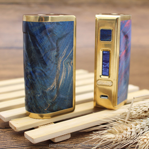 DNA75 chip 75W Box Mod World Tree Stabilized wood Temperature control