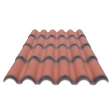 soundproof europe style 2 layers pvc roof tile asa synthetic resin roof