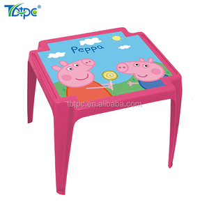 TB-554best price top supplier kids furniture plastic carton children table and chair set