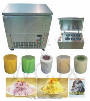 CE approved taiwanese ice block maker machine for snow cone ice shaved/commercial snowflake ice freezer/snow ice making machine