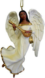 customized 5 Inch African American Angel Ornaments
